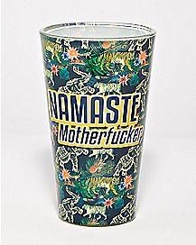 Namaste Motherfucker Pint Glass - 16 oz.