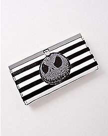 Striped Jack Skellington Wallet - The Nightmare Before Christmas