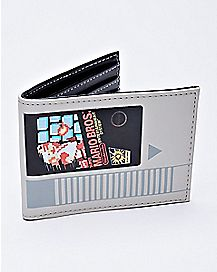Cartridge Super Mario Bros. Bifold Wallet - Nintendo