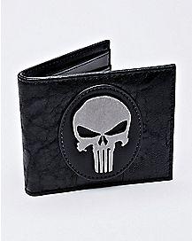 Badge Punisher Bifold Wallet - Marvel