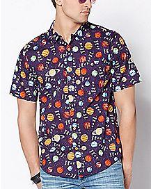 Ask Me About Uranus Button Down Shirt