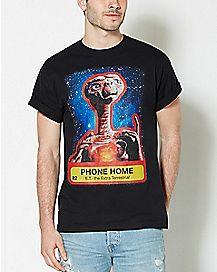 Phone Home E.T. T Shirt