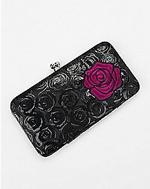 Rose Hinge Wallet