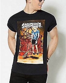 Broom Sabrina Spellman T Shirt - Archie Comics