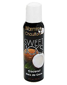 Warming Coconut Flavored Massage Lotion 2 oz. - Sweet Licks