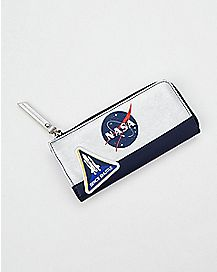 NASA Badge Zip Wallet