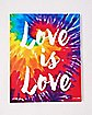 Love Is Love Canvas Wall Art