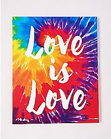 Love Is Love Canvas Wall Art