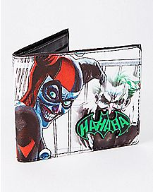 Harley Quinn and Joker Bifold Wallet - DC Comics