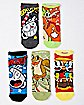 Cuphead No Show Socks - 5 Pair
