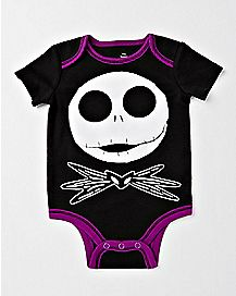 Jack Skellington Baby Bodysuit - The Nightmare Before Christmas