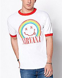 Rainbow Nirvana T Shirt