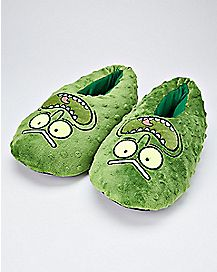 Pickle Rick Slippers - Rick and Morty