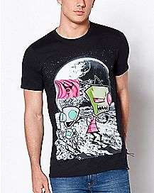 Moon Invader Zim T Shirt