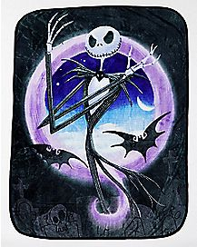 Mad Jack Skellington Fleece Blanket - The Nightmare Before Christmas