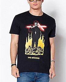 Cross The Weeknd T Shirt