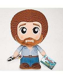 Bob Ross Plush Toy