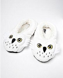 Hedwig Slipper Socks - Harry Potter