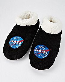 NASA Slipper Socks