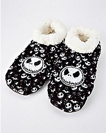 Jack Skellington Slipper Socks