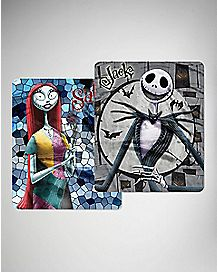 Jack and Sally Double Sided Fleece Blanket - The Nightmare Before Christmas