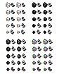 Multi-Pack CZ Stud Earrings 18 Gauge - 20 Pair
