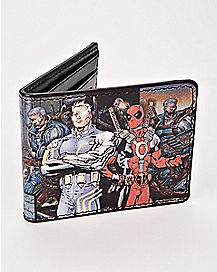 Cable and Deadpool Wallet - Marvel