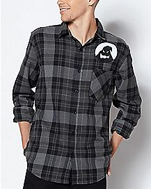 The Nightmare Before Christmas Flannel Shirt - Disney