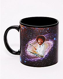 Galaxy Bob Ross Coffee Mug - 20 oz.