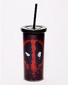 Deadpool Cup With Straw 20 oz. - Marvel