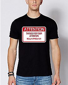 ATTENTION T Shirt