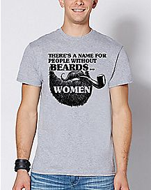 People Without Beards T Shirt