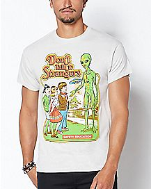 Don't Talk To Strangers T Shirt - Steven Rhodes