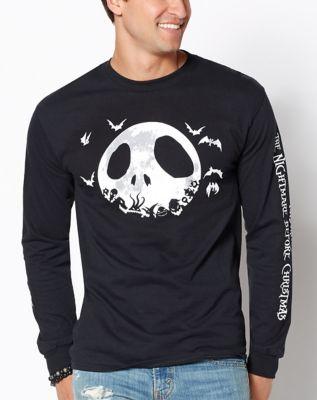 jack skellington long sleeve t shirt the nightmare before christmas