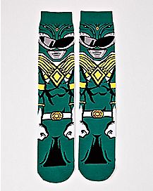 Green Ranger Crew Socks - Power Rangers