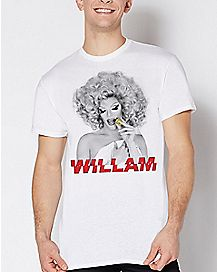 Willam - Poppin' By House of Avalon T Shirt - Drag Queen Merch