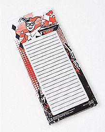 Harley Quinn To Do List Magnetic Pad - DC Comics