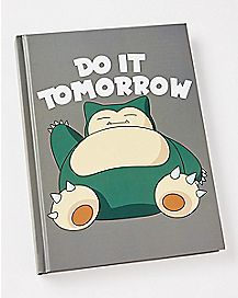 Do It Tomorrow Snorlax Journal - Pokemon