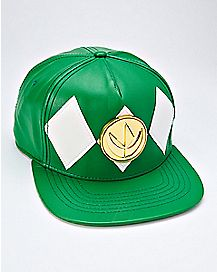 Green Power Rangers Snapback Hat