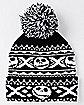 Pom Jack Skellington Beanie Hat - The Nightmare Before Christmas
