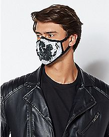Black and White Dust Mask