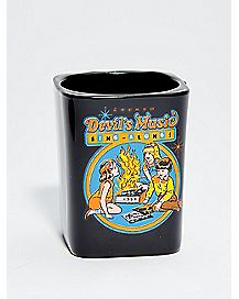 Devil's Music Shot Glass 2 oz. - Steven Rhodes