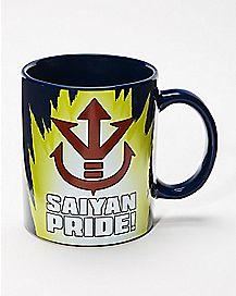 Sound Saiyan Pride Coffee  Mug 16 oz. - Dragon Ball Z