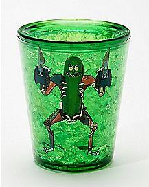 Freezer Pickle Rick Shot Glass 1.5 oz. - Rick and Morty