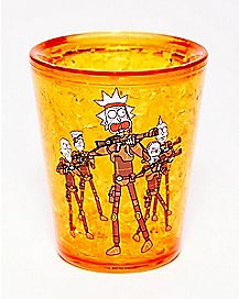 Freezer Army of Ricks Shot Glass 2 oz. - Rick and Morty