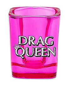 Square Drag Queen Shot Glass - 1.5 oz.