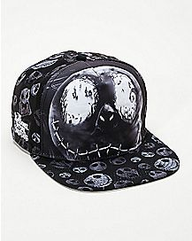 Faces Jack Skellington Snapback Hat - The Nightmare Before Christmas