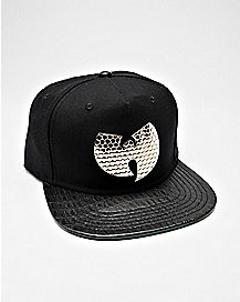 Wu-Tang Clan Metal Badge Snapback Hat