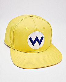 Wario Snapback Hat - Super Smash Bros