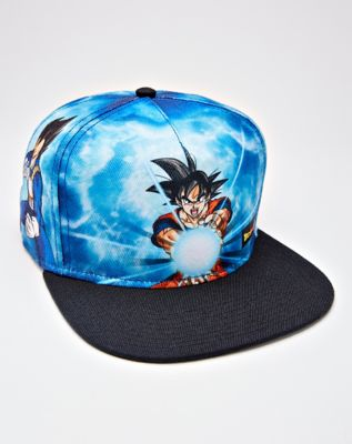 9fed0207008df Goku Snapback Hat - Dragon Ball Z - Spencer s